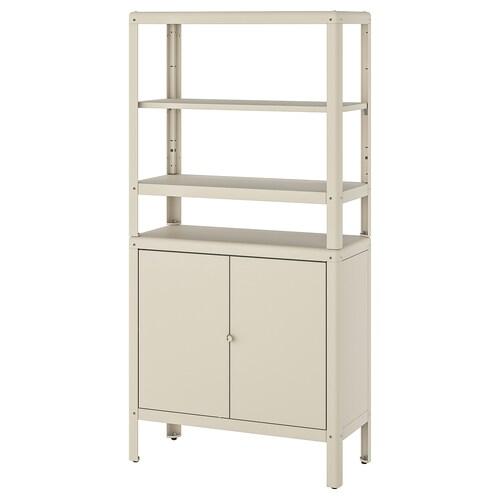 IKEA KOLBJÖRN Estantería con armario
