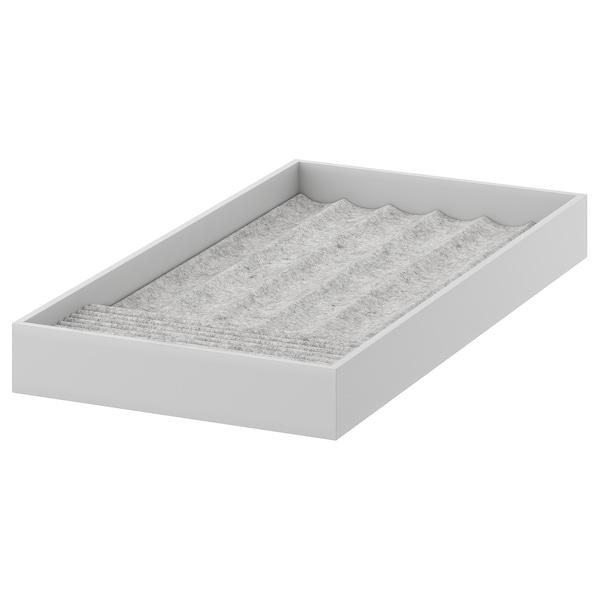 KOMPLEMENT Accesorio joyería, gris claro, 25x53x5 cm