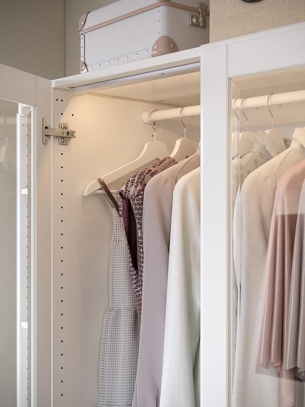 KOMPLEMENT Barra para armario, blanco, 100 cm