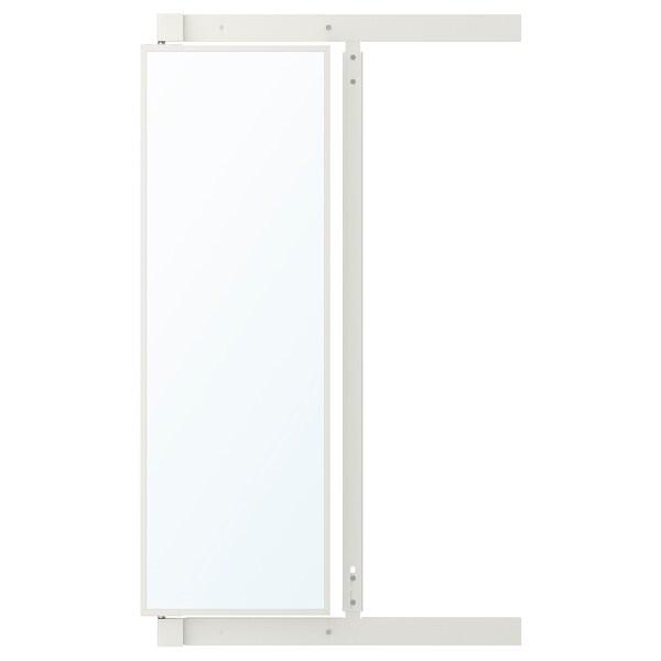 IKEA KOMPLEMENT Espejo extraíble con ganchos
