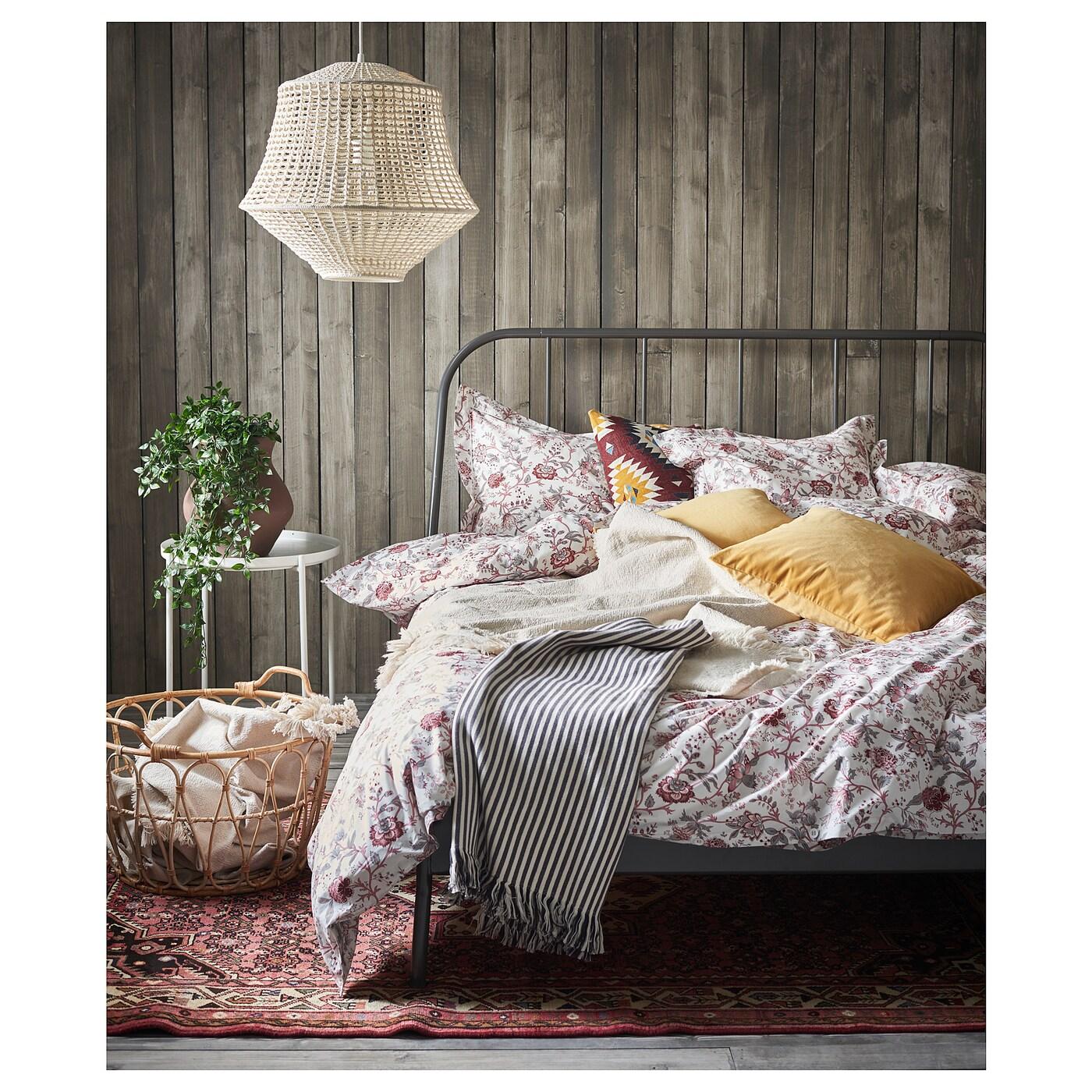 Kopardal estructura cama gris 140 x 200 cm ikea - Estructura cama ...