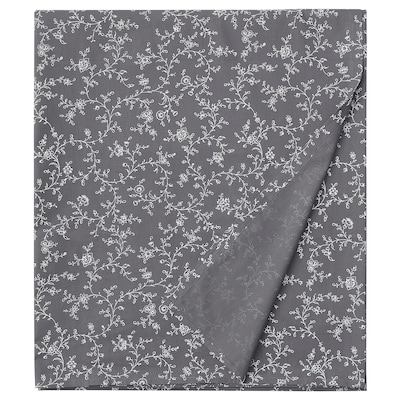 KOPPARRANKA Sábana, dibujo con flores, 240x260 cm