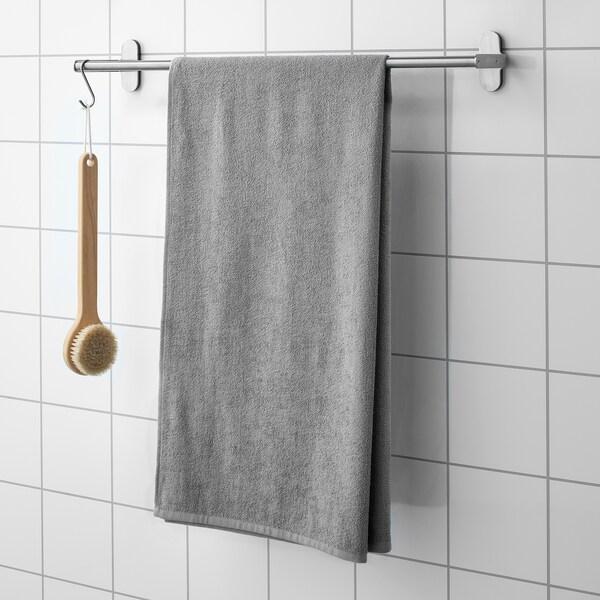 KORNAN Toalla de baño, gris, 70x140 cm