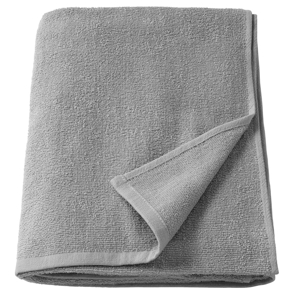 KORNAN Toalla de baño, gris, 100x150 cm