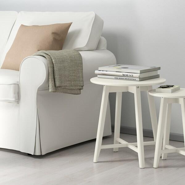 KRAGSTA Mesa nido, j2, blanco