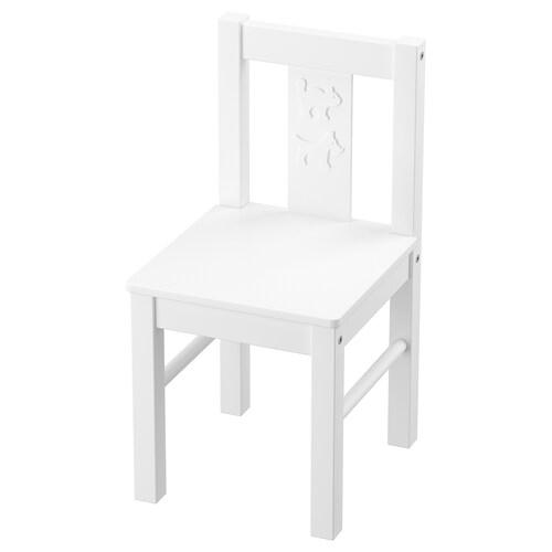 KRITTER silla para niño blanco 27 cm 29 cm 53 cm 27 cm 29 cm 30 cm