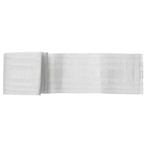 KRONILL cinta para fruncir blanco 310 cm 8.5 cm