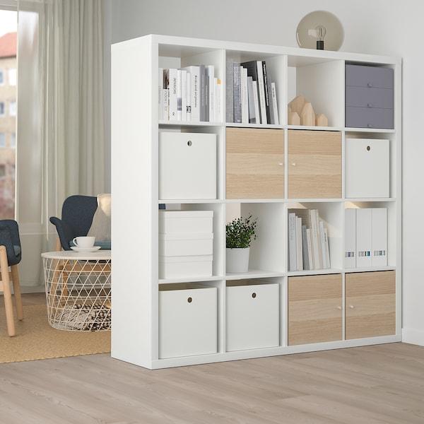 KUGGIS Caja, blanco, 30x30x30 cm
