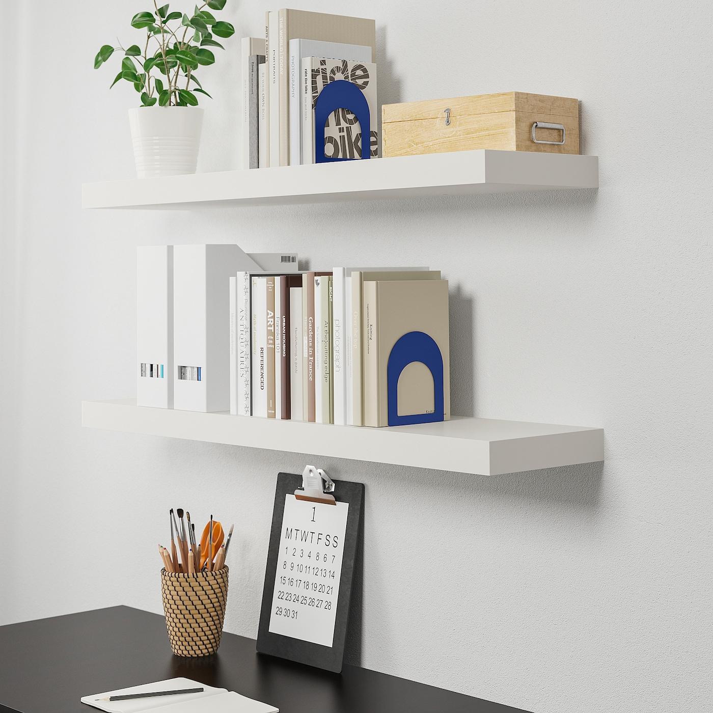 estanterias blancas y lilas para dormitorios ikea