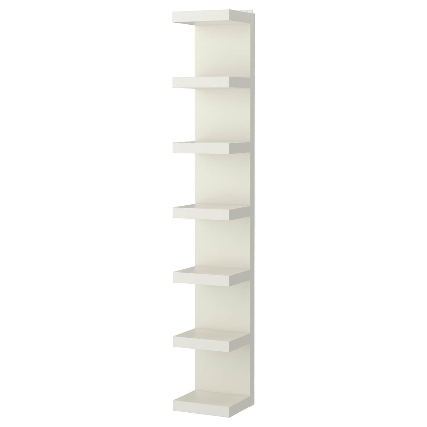 Lack Estanteria De Pared Blanco 30 X 190 Cm Ikea
