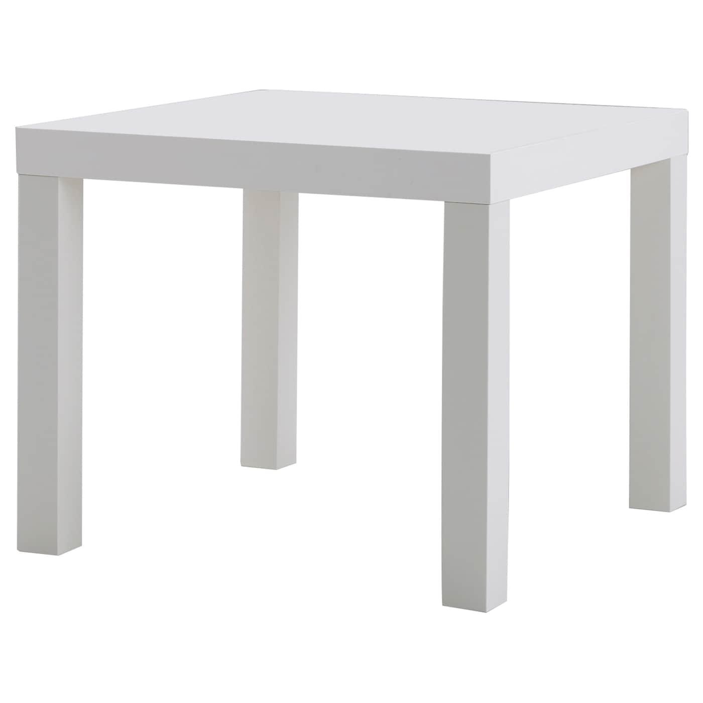 Lack mesa auxiliar blanco 55 x 55 cm ikea - Ikea mesa lack blanca ...