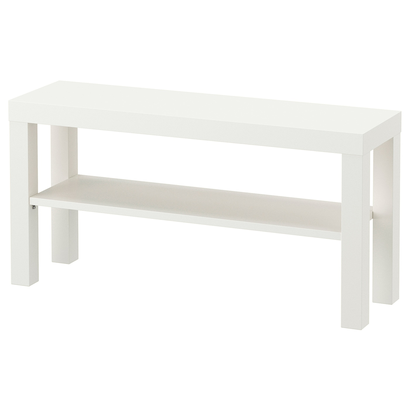 Lack mueble tv blanco 90 x 26 x 45 cm ikea for Mueble tv ikea