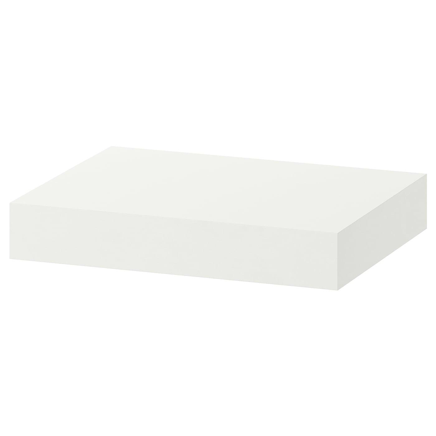 Lack Estante De Pared Negro Marron Ikea