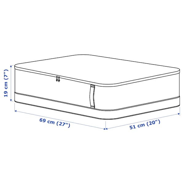 LACKISAR Bolsa de almacenaje, 69x51x19 cm