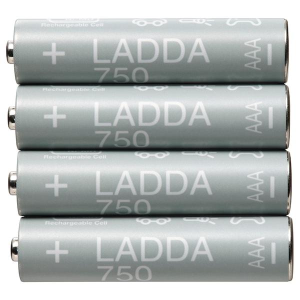 LADDA Pila recargable, HR03 AAA 1,2V, 750mAh