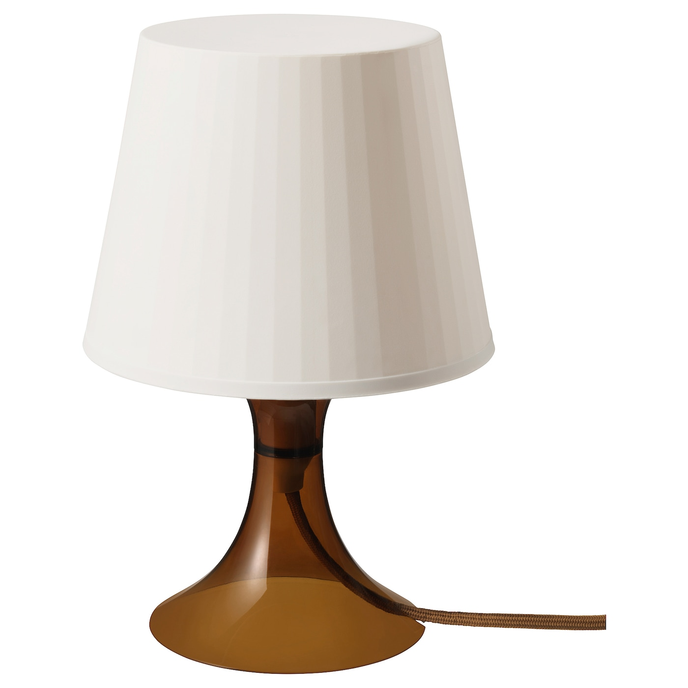 LAMPAN Lámpara de mesa marrón 29 cm