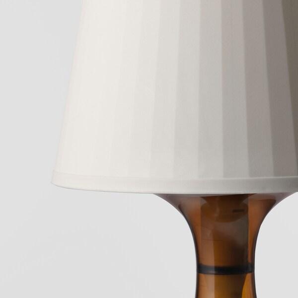 LAMPAN Lámpara de mesa, marrón, 29 cm IKEA