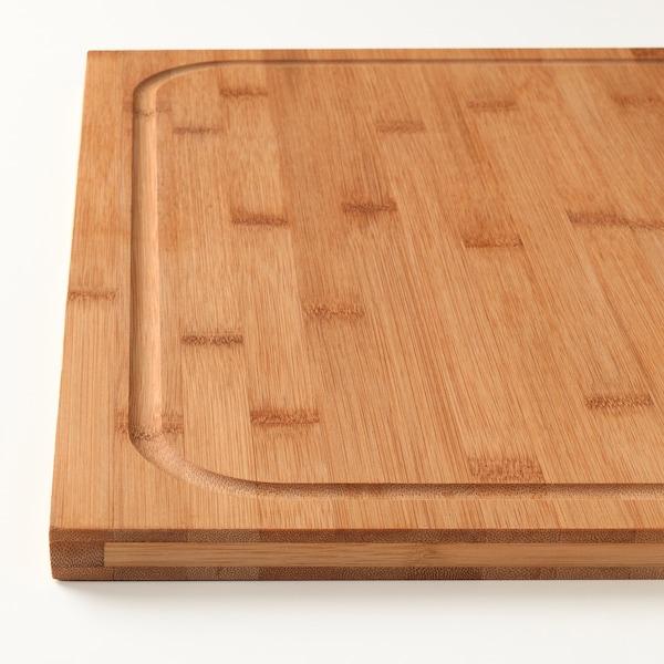 LÄMPLIG Tabla de cortar, bambú, 46x53 cm