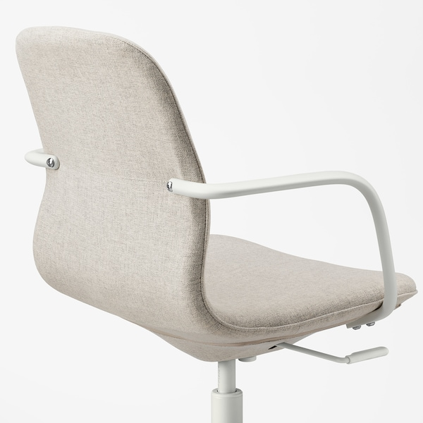 LÅNGFJÄLL silla juntas con reposabrazos Gunnared beige/blanco 110 kg 67 cm 67 cm 92 cm 53 cm 41 cm 43 cm 53 cm
