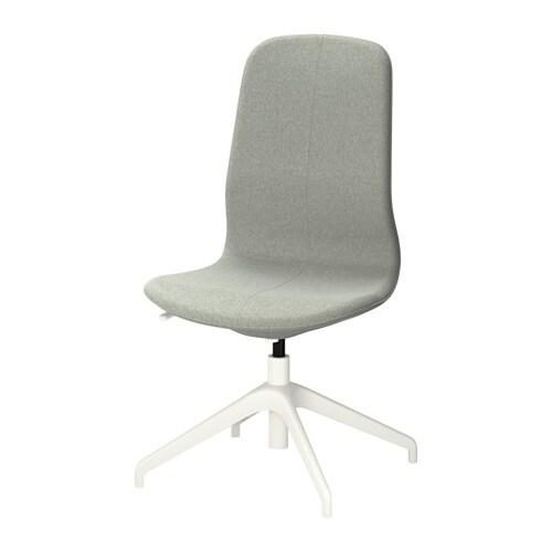 L ngfj ll silla giratoria gunnared verde claro blanco - Silla giratoria ikea ...