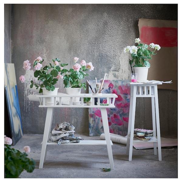 LANTLIV Soporte p/plantas, blanco, 68 cm