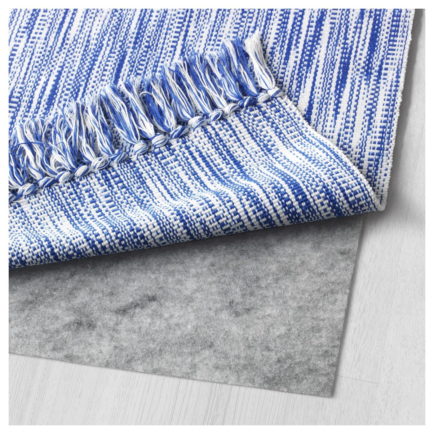Lappljung Alfombra Azul 80 X 150 Cm Ikea