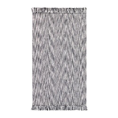 LAPPLJUNG Alfombra Negro 80 x 150 cm - IKEA