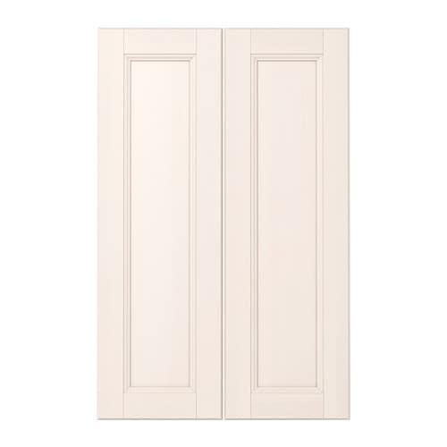 Laxarby puerta armario bajo esquina 2 uds blanco ikea - Puertas para armarios ikea ...