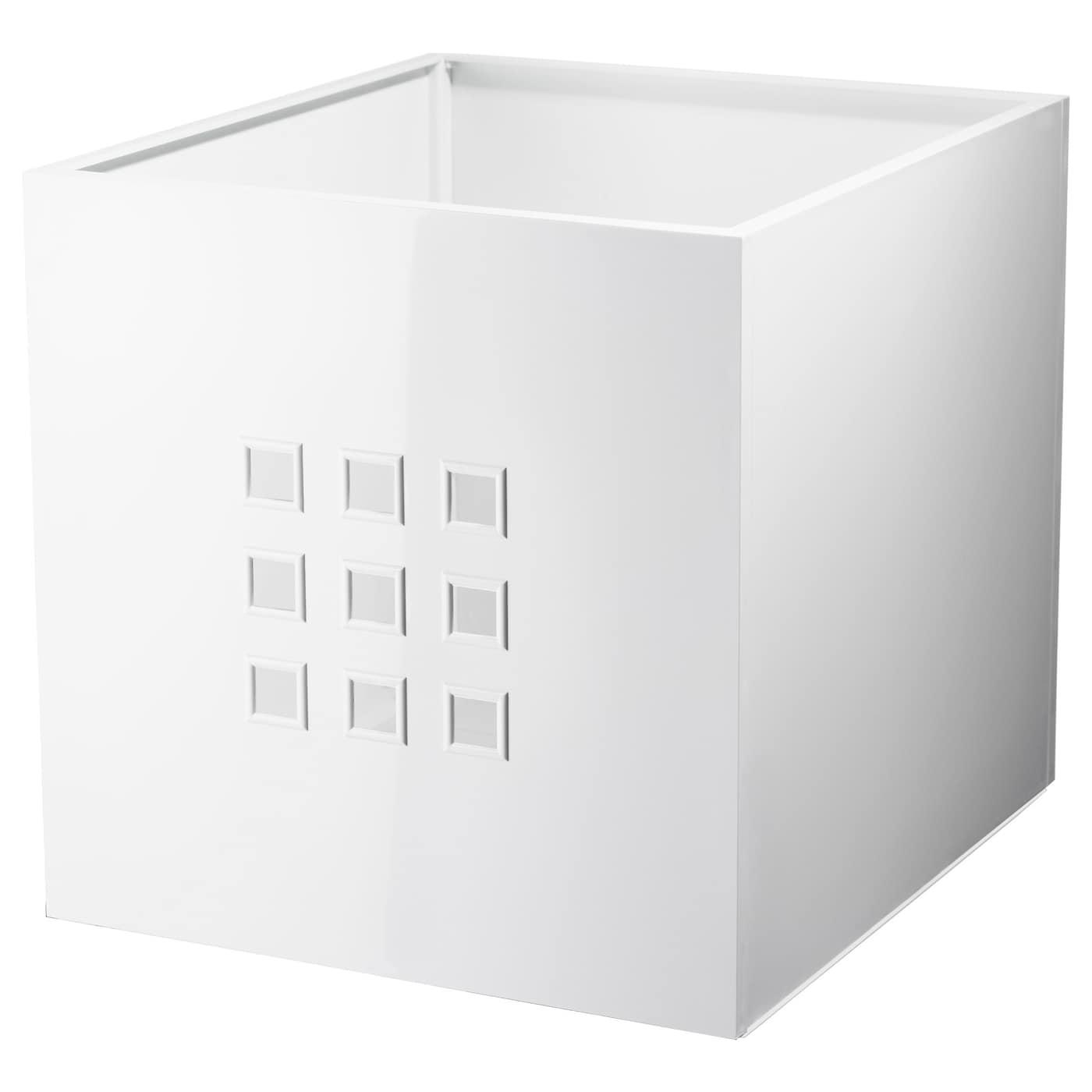 Lekman Caja Blanco 33 X 37 X 33 Cm Ikea