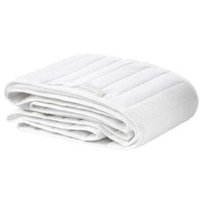 LEN Protector de cuna / chichonera, blanco, 60x120 cm