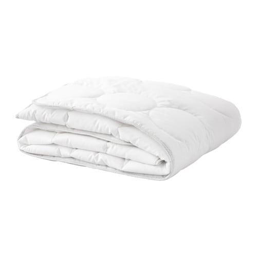 LENAST Edredón para cuna barrotes Blanco/gris 110 x 125 cm   IKEA