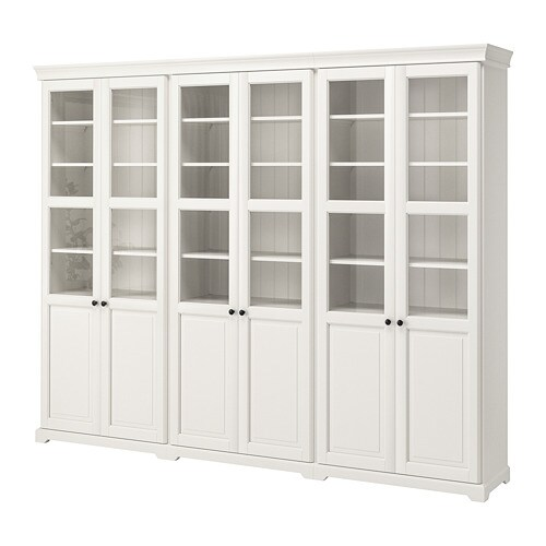 LIATORP Mueble de salón con almacenaje Blanco 276 x 214 cm - IKEA