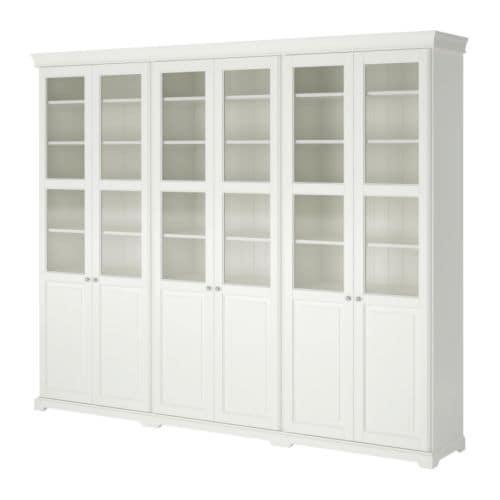 Liatorp mueble de sal n con almacenaje ikea for Mueble ikea salon
