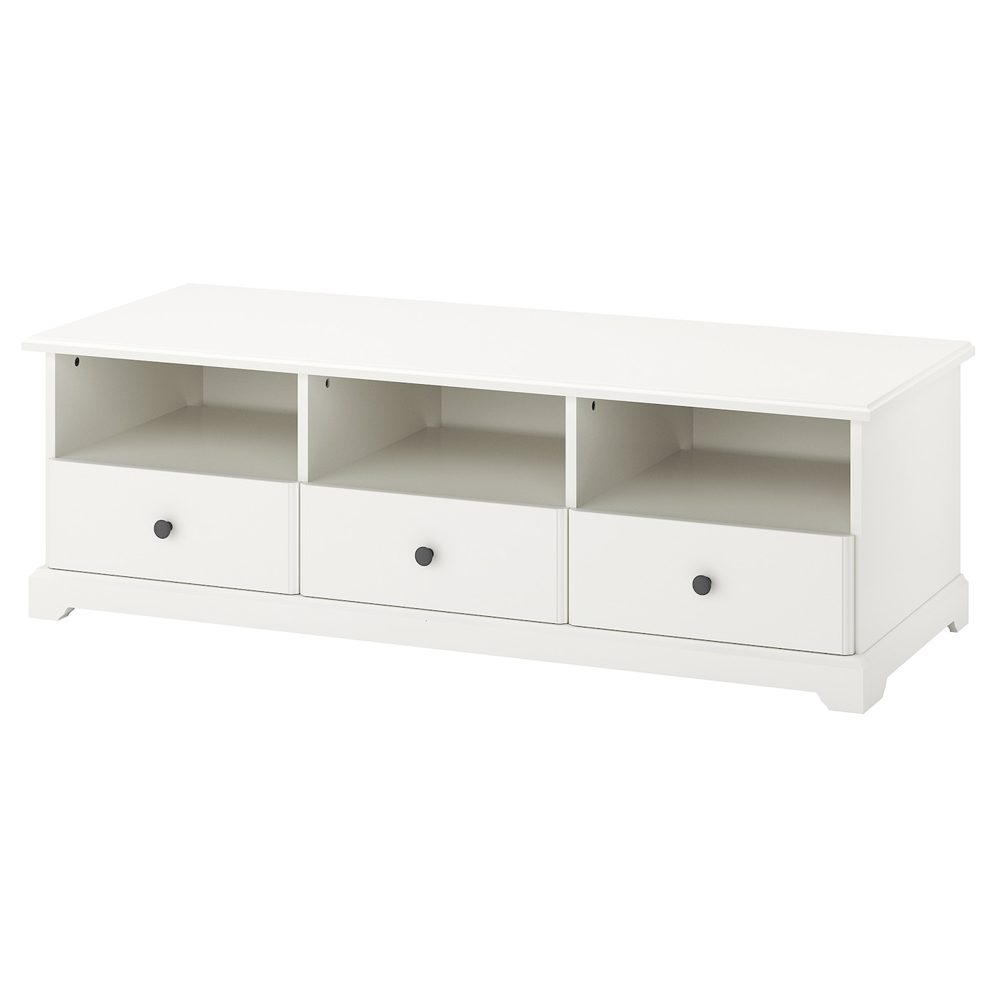 Liatorp mueble tv blanco 145 x 49 x 45 cm ikea for Muebles tv modernos ikea