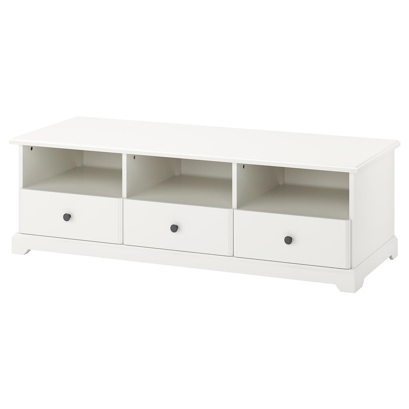 Liatorp mueble tv blanco 145 x 49 x 45 cm ikea for Mueble tv ikea segunda mano