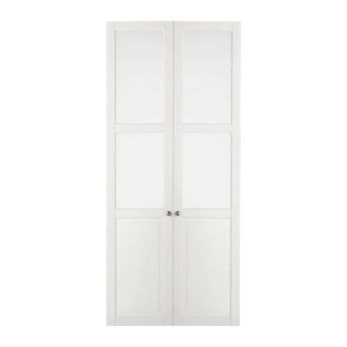 Liatorp puerta de vidrio blanco ikea - Puertas de paso ikea ...
