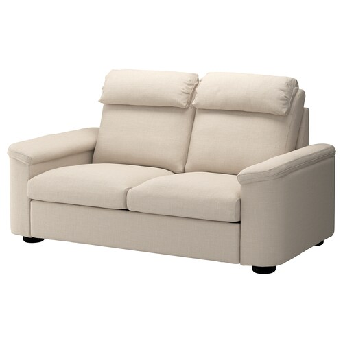 LIDHULT sofá 2 plazas Gassebol beige claro 102 cm 76 cm 189 cm 98 cm 7 cm 141 cm 53 cm 45 cm