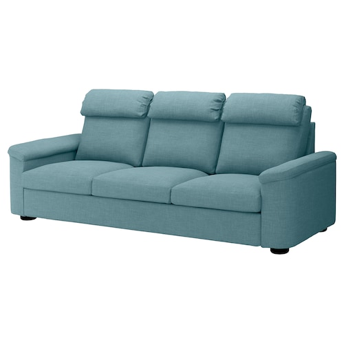 LIDHULT sofá 3 plazas Gassebol azul/gris 102 cm 76 cm 259 cm 98 cm 7 cm 211 cm 53 cm 45 cm