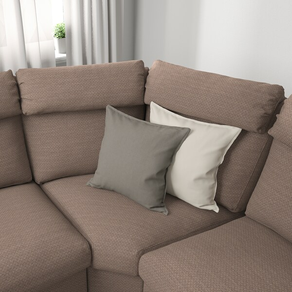 LIDHULT sofá cama esquina 5 Lejde beige/marrón 102 cm 76 cm 98 cm 294 cm 275 cm 7 cm 53 cm 45 cm 140 cm 200 cm