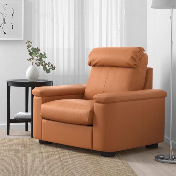 LIDHULT Sillón, Grann/Bomstad marrón dorado