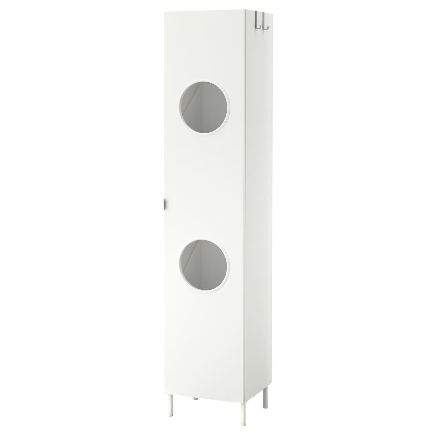 Lill ngen armario para colada blanco 40 x 38 x 189 cm ikea for Armario almacenaje bano