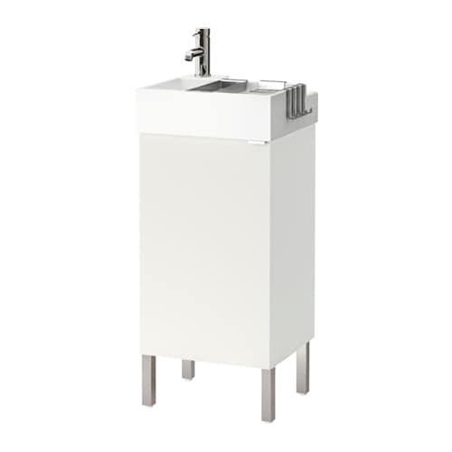 Lill ngen armario lavabo 1 puerta blanco ikea - Armario lavabo ikea ...