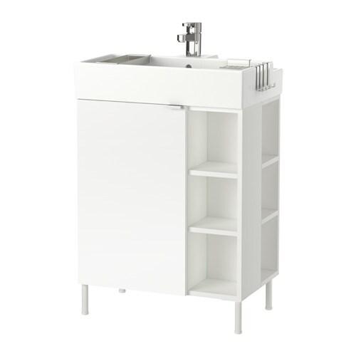 Adesivo De Insulina Onde Comprar ~ LILLåNGEN Armario lavabo1puerta 2mód term blanco IKEA