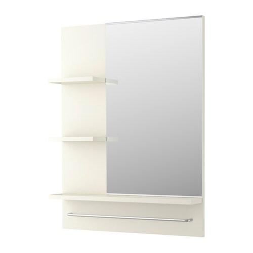 lill ngen espejo blanco ikea. Black Bedroom Furniture Sets. Home Design Ideas