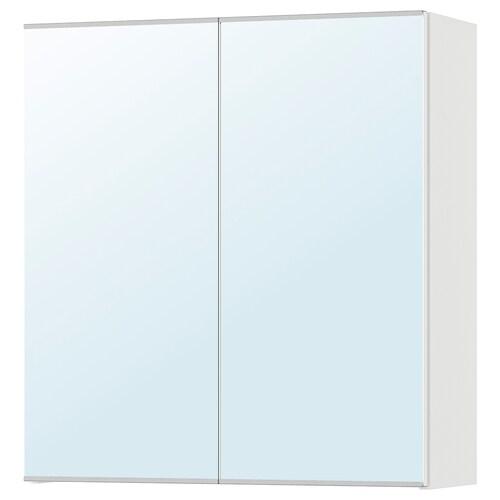 LILLÅNGEN armario &espejo, 2 puertas blanco 60 cm 21 cm 64 cm