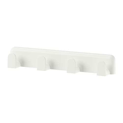 Lillnaggen perchero de ganchos ikea for Perchero ikea blanco