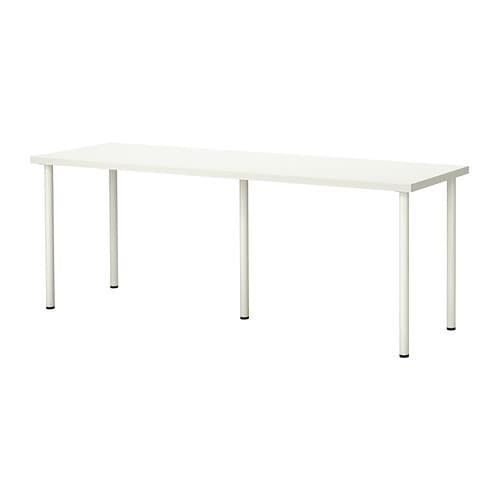 Linnmon adils mesa blanco ikea - Mesa de trabajo ikea ...