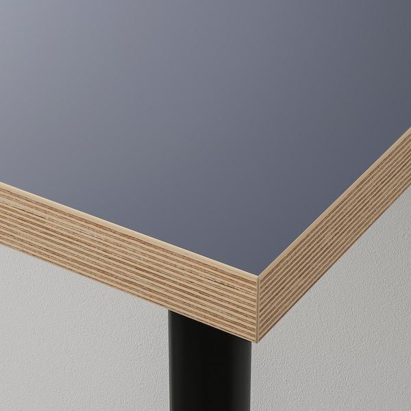 LINNMON / ALEX mesa negro/azul 150 cm 75 cm 74 cm 50 kg