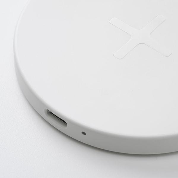 LIVBOJ Cargador inalámbrico, blanco