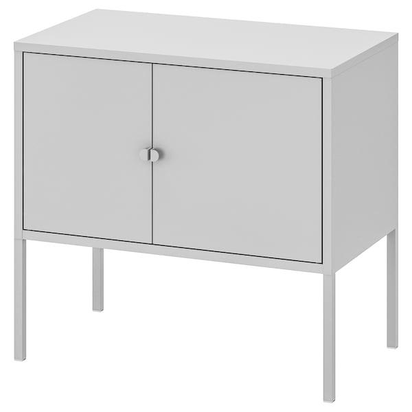LIXHULT Armario, metal/gris, 60x35 cm